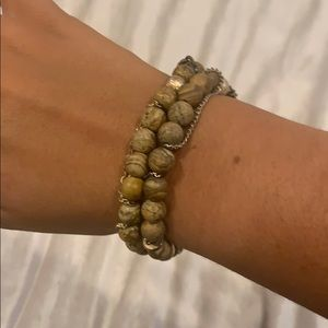 Brown Rock Bracelet